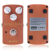 Wholesale Joyo JF Sweet Baby Electric Violao distortion Guitar Effect Pedal with Low Gain Overdrive amp Focus Knob Musical Instrument Parts I286