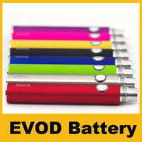 650mAh Non-Adjustable  2014 new EVOD battery Variable Voltage 3.3V 3.7V 4.2V 650mah 900mah 1100mah electronic cigarette match with CE4 MT3 ego atomizer DHL ship