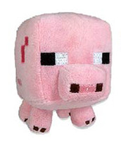 Wholesale Minecraft inch Baby Pig Soft Toy plush toy new