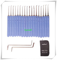 Wholesale 2016 Hot KLOM Sets of Crochet Tool lock pick tools locksmith tools A224