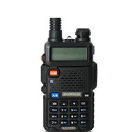 Wholesale BAOFENG UV R Dual Band VHF136 MHz UHF400 MHz Two Way intercom radio transceiver interphone