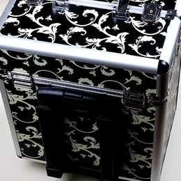 Wholesale Cosmetic Case Makeup Train Case Containers For Cosmetic Organizer Bags Women Tote Bag Make Up Organizer Multifunctional