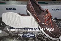 Wholesale men boat shoes Handmade casual sandals Nubuck Leather rubber sole can choose a color have stock fashion