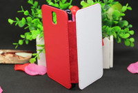 For Samsung Leather Black Note 3 Leather DIY sublimation case with magnet and Card slot for Samsung Galaxy Note 3 N9006