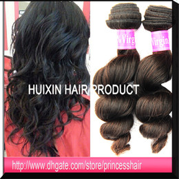 Wholesale Virgin Brazilian Hair extensions Loose Wave Real Raw Russian Eurasian European wavy remy hair weft New products bundle hair