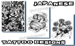 Wholesale EMS Free Traditional Tattoo Designs A4 Tattoo Manuscript For Tattoo Supplies Tattoo Flash
