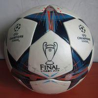 Wholesale 2014 European Champions League Final match Ball BATTLE OF LISBON Football Seamless PU Granules antiskid Size Soccer Ball