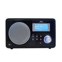 Wholesale Brand New Ocean Digital Wooden Portable DAB DAB FM Desktop Radio With Alarm Clock Big Display