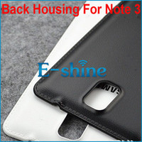 Cheap For Samsung note 3 back housing Best Plastic White note replacement