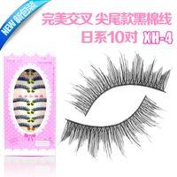 drywall - Newly XH Japanese black cotton stems naturally cross drywall series handmade false eyelashes