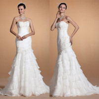 Cheap Trumpet/Mermaid 2014 wedding dresses Best Reference Images Sweetheart chiffon lace bridal gowns