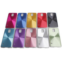 plastic cd covers - Gorgeous CD Grain In Metal Aluminium Alloy Case Hard Plastic Cover Skin Dust Dirt Protector for Samsung Galaxy S5 Mix Colors