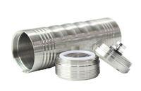 Cheap 2014 high item Stainless steel mods 26650 mechanical mod big nasty with Nimbus atomizer Trident atomizer Hercules atomizer