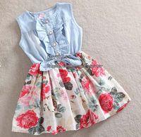 Summer clothes for kids - Dresses For Kids Girls Cute Dresses Kids Summer Dress Children Clothing Fashion Princess Dresses Child Clothes Flower Dresses Children Wear