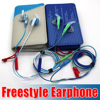 best handbag wholesale - Best quality New Arrival FreeStyle Sport in Ear Headphones with MIC Control Talk earphone with retail box and handbag case goodbiz
