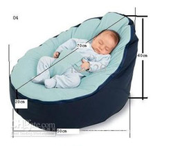 Wholesale 2014 Baby Pouf Bean Bag Without Filling Blue Color Baby bean Bag Toddler Seat Bubbles doommoo baby
