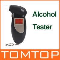 Wholesale Backlit Display Digital LCD Breathalyzer Audible Alert Breath Alcohol Tester H10005
