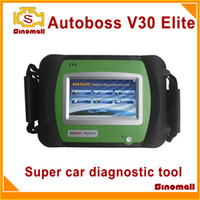 Wholesale 2014 New Original AUTOBOSS V30 Elite Super Scanner diagnostic tool Update Online autoboss pc max