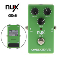 Wholesale Electronic New NUX OD Overdrive Guitar Guitarra Violao Electric Effect Pedal Ture Bypass Green Musical Instrument I297
