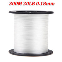 fishing line - 2014 NEW Pesca M LB mm Dyneema Fishing Fish Line Strong Braided Strands White H9699W