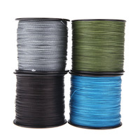 0.55mm 100lb braided fishing line - 2014 NEW M LB mm Pesca Dyneema Fishing Line Strong PE Braided Strands Blue Grey Black Green H10878