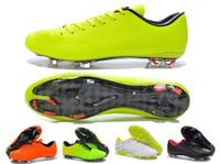 Wholesale 2014 World Cups HyperVenom Phantom TF Neymar Boots Blkred Sports Shoes size
