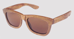 popular brown lens antique brown bamboo sunglasses on sale drop shipping