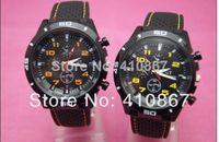 Unisex Round Analog Wholesale-2014 F1 Grand Touring GT Men Sport Quartz Watch Military Watches Army Japan PC Movement Wristwatch Fashion Men's Watches