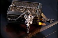 Unisex arwen evenstar pendant - Fashion Jewelry COOL The LOTR K White Gold filled Arwen Evenstar White Sapphire CZ Necklace Pendant for wedding gift