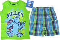 Wholesale The new children s two piece suit vest shorts boys set