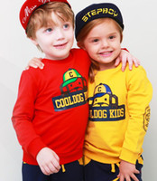 Wholesale 2014 Korean children s clothes terry sweater boys girls piece suit set