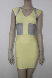 Wholesale Short sleeves dress O neck slim fitted straps dress bandage celebrity dress