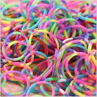 Wholesale Best Toys Shop Provided Refill Rainbow loom rubber band blending or monochrome rubber S hook Christmas gifts