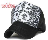 Wholesale HERO letters truck cap Skull pattern mesh hat Snapbacks caps Sports hats hat circumference cm color