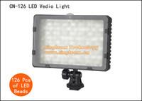 Wholesale 2Sets LEDs Photographic Lighting CN LED Video Light Flash Head for Canon Nikon Sony Panasonic DSLR Cameras