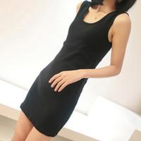Casual Dresses Strapless A Line dresses 2014 Summer Slim tight little sling working models bottoming word length skirt vest skirt 9051 #