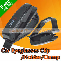 Glasses Case 4 cm Saddle 5PCS Lot Eyeglasses Holder , Car Sunglasses Clip Attaches to the Sun Visor Securely , Glasses Clamp Dropshipping + Free Shipping