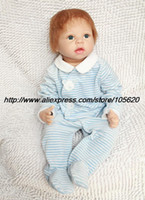 "Unisex Birth-12 months Vinyl 22"" Reborn Baby doll lifelike silicone vinyl dolls russian toys soft cute dolls for kids unique toys"