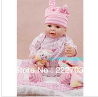 Unisex Birth-12 months Latex boy's girls' sex organ 2014 Free kawaii cute silicone reborn baby dolls toys for kids hot sale children christmas gift