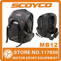 Wholesale 2014 Scoyco MB12 Quality Motorcycle Backpack Badminton Motorbike Backpack Bag Travel Bag Sports Bags Sports Backpack Racing Bag