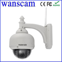 Wholesale HW0028 High Definition x Varifocal Zoom Pan Tilt PTZ H IR Cut WiFi Outdoor Security Network IP Camera