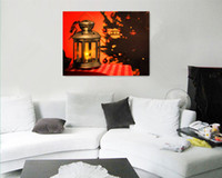 Wholesale Living room mural Led light Frameless Painting Home Decorative Art Picture Paint on Canvas Prints001D