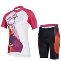 cheji bicycle clothes for women short sleeve team cycling jersey