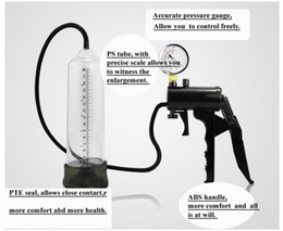 Wholesale Penis Enlargement pump Advanced Penis Enlarger Pump with a Hand Grip Pump and Vacuum Gauge to Give You Maximum Control