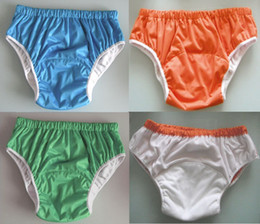 Wholesale 3 color sizes chioce waterproof Adult cloth diaper cover Nappy nappies diaper diapers S M L
