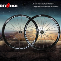 Wholesale FFWD F4R mm clincher or tubular bicycle wheels white logo fast forward c carbon fiber road bike racing wheelset