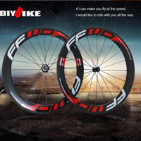 Wholesale FFWD F6R mm clincher bicycle wheels Carbon fiber fast forward road and racing cycling wheelset