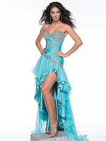 Cheap Reference Images gown party dress Best Sweetheart Chiffon prom ball gown dress