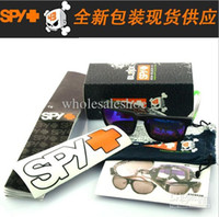 Wholesale Original Package For SPY OPTIC KEN BLOCK HELM Sports Sunglasses Brand Outdoor Sun glass Packs Best Promotion Packaging