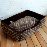 Wholesale Promotion Free gifts New fashion classic plaid assorted colors Pet dog beds cat bed pet bed for dogs dog kennel outdoor